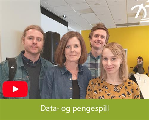 Data og pengespill.